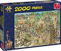 Jan van Haasteren Middeleeuwen - Puzzel - 2000 stukjes