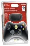 Microsoft Draadloze Controller Zwart Xbox 360 + PC