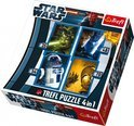 Star Wars puzzel 4-in-1