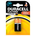 Duracell Plus Power 9V Alkaline Batterijen 1x Pak