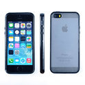 Apple iPhone 5/5S Hoesje Bumper case met achterkant Zwart/Black