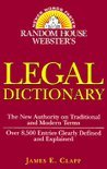 Webster's Legal Dictionary