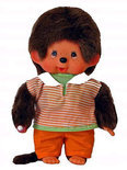 Monchhichi Orange Pant Boy