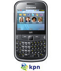 Samsung Chat 335 (S3350) - Zwart - KPN prepaid telefoon