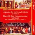 A. Marcello: Concerto for Oboe, etc / Grazzi, Pozzer, et al