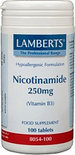 Lamberts Nicotinamide - 250 mg - 100 Tabletten - Vitaminen