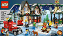 LEGO Winter Dorp Postkantoor - 10222