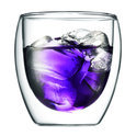 Bodum Pavina Glas - Dubbelwandig - Klein 0.25L -  Set van 2