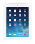 Apple iPad - met Retina-display - met 4G - 16GB - Wit - Tablet