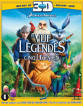 De Vijf Legendes (Rise Of The Guardians) (3D Blu-ray)