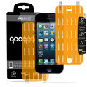 QooQoon silqShield™ Invisible Screen Protector voor Apple iPhone 5 en iPhone 5S - Front en Back met SmartApply