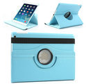 Apple iPad Air Swivel Case, 360 graden draaibare Hoes, Cover met Multi-stand - Kleur Hemelsblauw