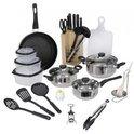 Keuken startersset - 25-delig - Aluminium