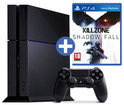 Sony PlayStation 4 500GB + 1 Wireless Dualshock 4 Controller + Killzone: Shadow Fall - Zwart PS4 Bundel