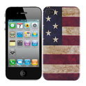 iPhone 4 / 4S hard case hoesje Amerikaanse vlag - USA