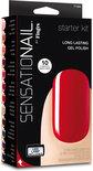 Sensationail Starterkit - Scarlet Red - Gelnagellak