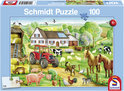 Schmidt Puzzel - Op de Boerderij