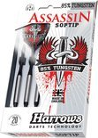 Harrows Dartset Softtip Assasin 80% Tungsten 16 gram