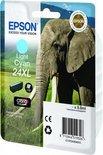 Epson 24XL (T2435) - Inktcartridge / Licht Cyaan / Hoge Capaciteit