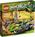 LEGO Ninjago Lashas Bijtende Motor - 9447