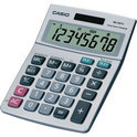 BUREAU CALCULATOR CASIO MS80S 8 CIJFERS  LCD