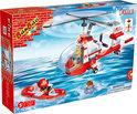 BanBao Brandweer Blus Helikopter - 8305