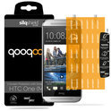 QooQoon silqShield™ Invisible Screen Protector voor HTC One M8 - Front met SmartApply
