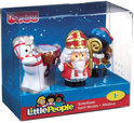 Fisher-Price Little People Sinterklaas en Piet