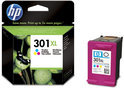 HP 301 XL - Inktcartridge Cyaan / Magenta / Geel