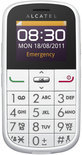 Alcatel One Touch 282 Senioren mobiel - Wit