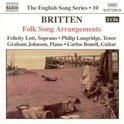 Britten: Folk Song Arrangement
