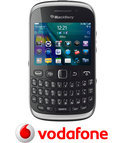 BlackBerry Curve 9320 - Zwart - Vodafone prepaid telefoon