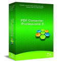 PDF Converter - ( v. 8 ) - complete package - 1 user - CD - Win - English