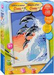 Schilderen Op Nummer - Dolfijnendans