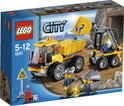 LEGO City Kiepwagen met Laadschop - 4201