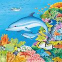 Ravensburger 3 in 1 Puzzel - Wereld van de Dolfijnen