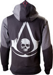 Assassin's Creed Black Flag - Character Hoodie - M (Black / Grey)