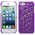 Freshfiber Hard Case Macedonia voor Apple iPhone 5/5S Paars