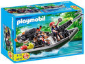 Playmobil Schattenjagers Met Boot En Kanon - 4845