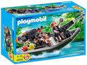 Playmobil Schattenjagers Met Boot En Kanon - 4845