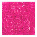 Jelly Loom Bands Pink / Roze 300x