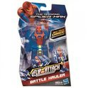 Spiderman Flip and attack figure battle hauler