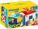 Playmobil 123 Vrachtwagen met Garage - 6759