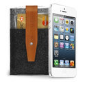 Mujjo Wallet Apple iPhone 5 (brown)