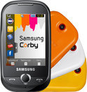 Samsung Corby (S3650) - Festival Orange