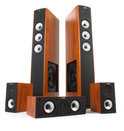 Jamo S 628 HCS - 5.0 speakerset - Dark Apple