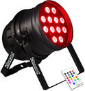 Beamz LED PAR 64 Can 12x 10W Alu Quad IR DMX Home entertainment - Accessoires