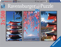 Ravensburger Japan (3 x 500) - Legpuzzel