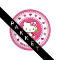Hello Kitty kinderfeest pakket