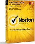Symantec Norton Antivirus 2012 - Nederlands / 3 gebruikers / 1 jaar / Win
